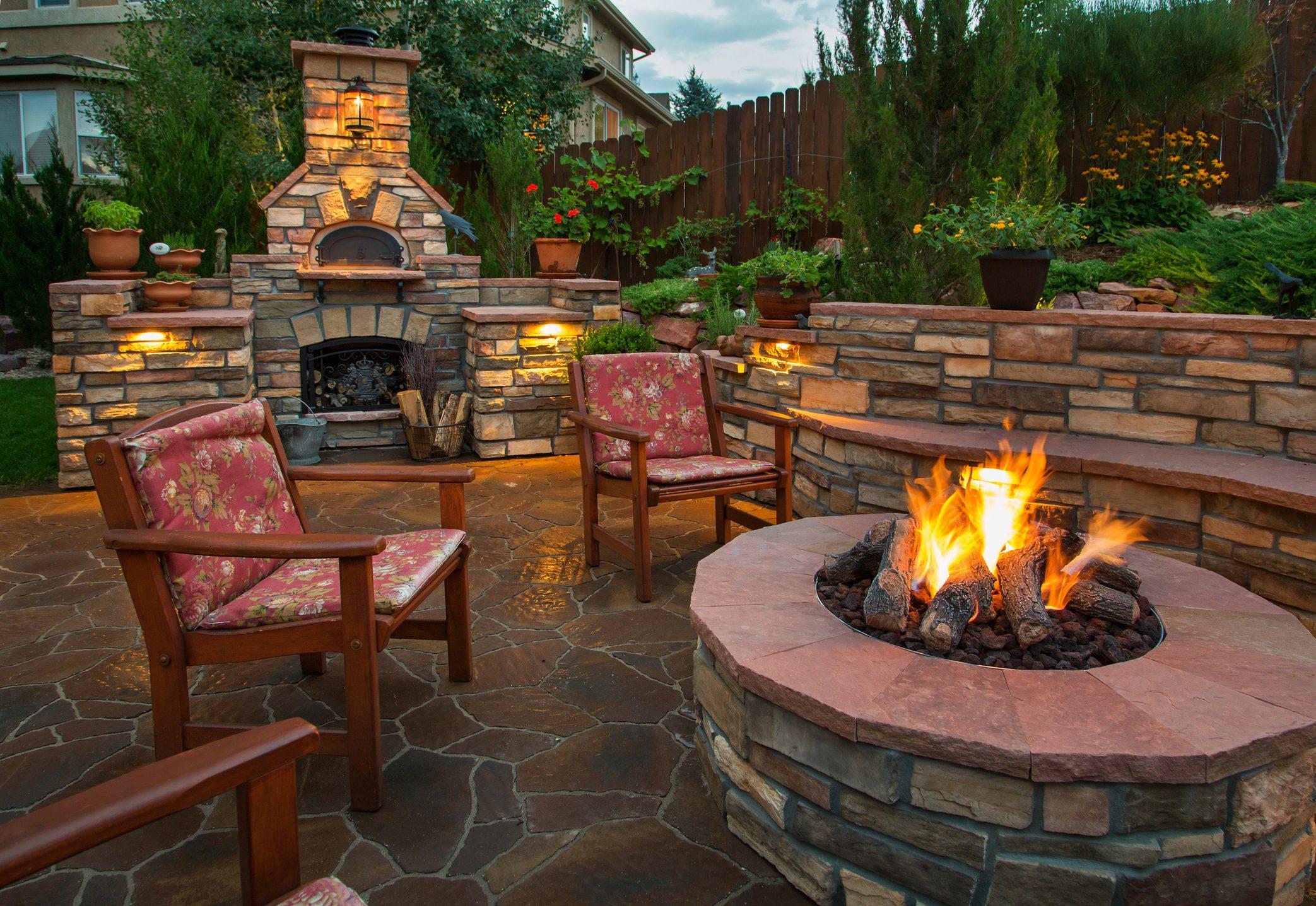 Backyard Firepits Are Trending